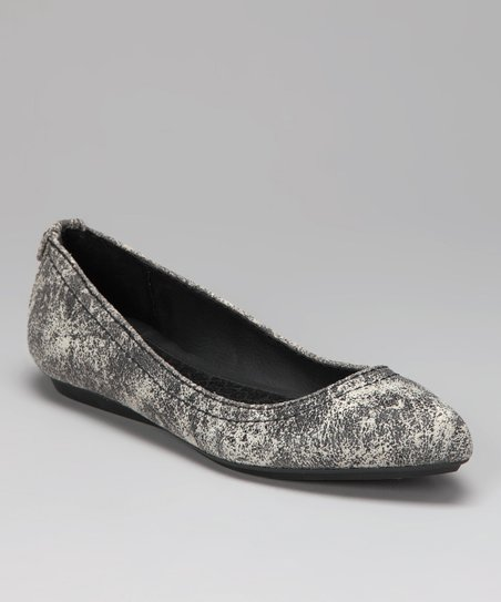 Black & Off-White Ciela Flat