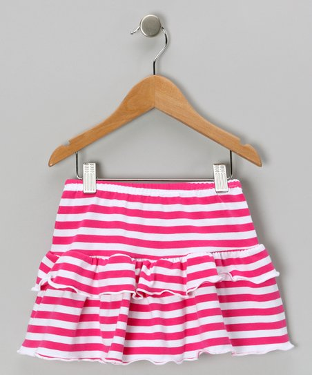 Pink Jersey Knit Skirt - Toddler & Girls