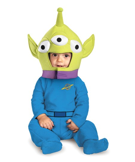 Blue & Green Alien Classic Dress-Up Set - Infant