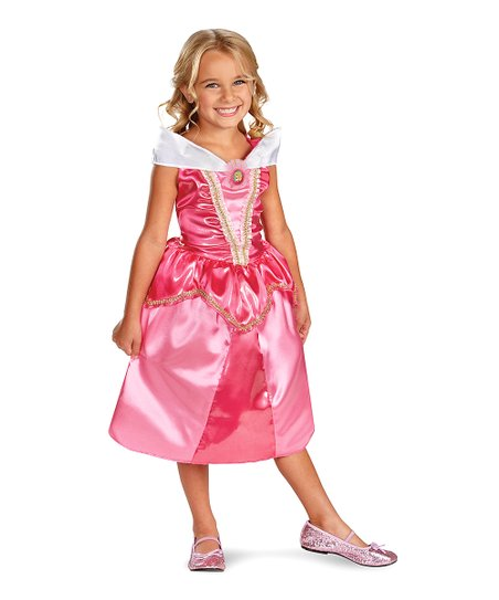 Pink Aurora Sparkle Classic Dress - Girls