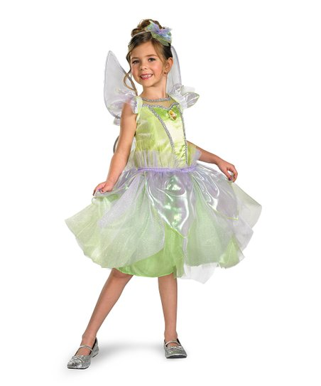 Lime Tinker Bell Tutu Prestige Dress-Up Set - Toddler & Girls