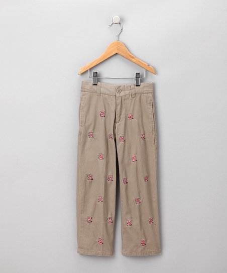 Khaki North Carolina Pants - Boys
