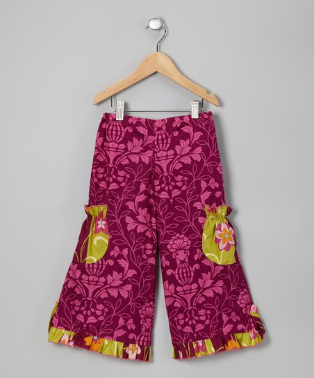 Purple Lee Cargo Pants - Infant, Toddler & Girls