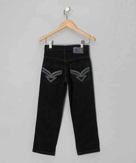 Deep Denim Straight-Leg Jeans - Toddler & Boys