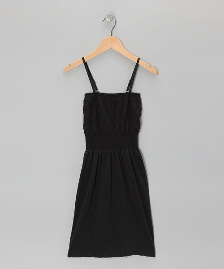 Black Diamond Dress - Toddler & Girls