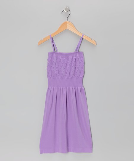 Purple Diamond Dress - Toddler &amp; Girls