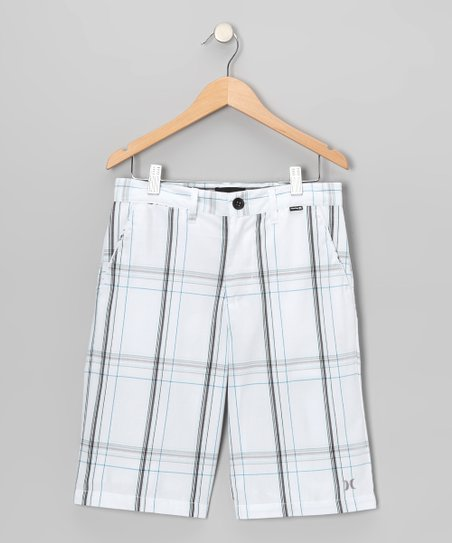 White Puerto Rico Shorts - Boys