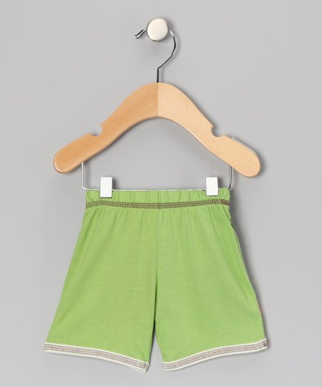 Green Shorts - Infant, Toddler & Kids