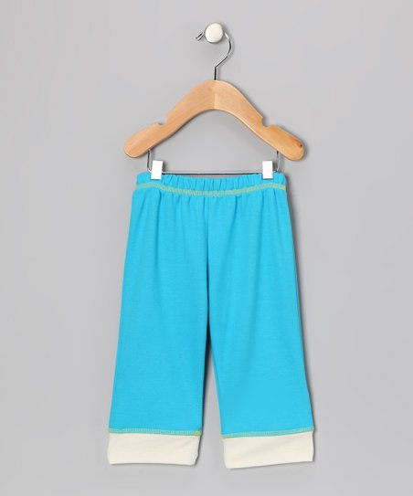 Blue Yoga Pants - Infant, Toddler & Kids