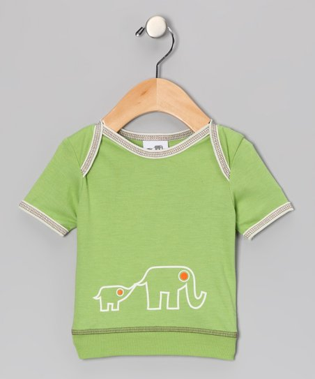 Green Elephant Tee - Infant, Toddler & Kids
