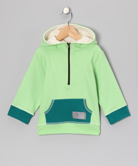 Green French Terry Hoodie - Infant, Toddler & Kids