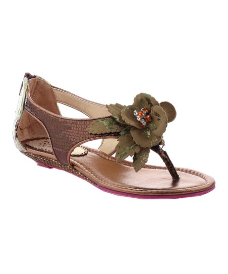 Brown Island Surprise Sandal