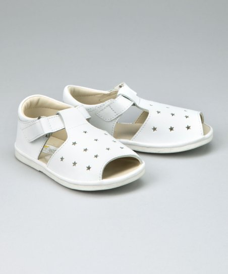 White Star T-Strap Sandal