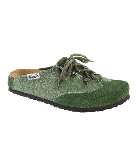 Wulf Green Montserrat Lace-Up Mule - Women & Men