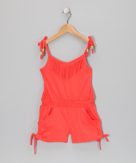 Mango Tango Fringe Romper - Infant & Girls