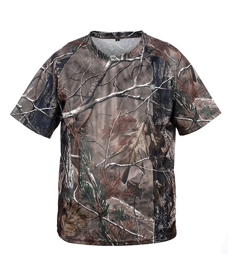 Brown Realtree Tee - Kids