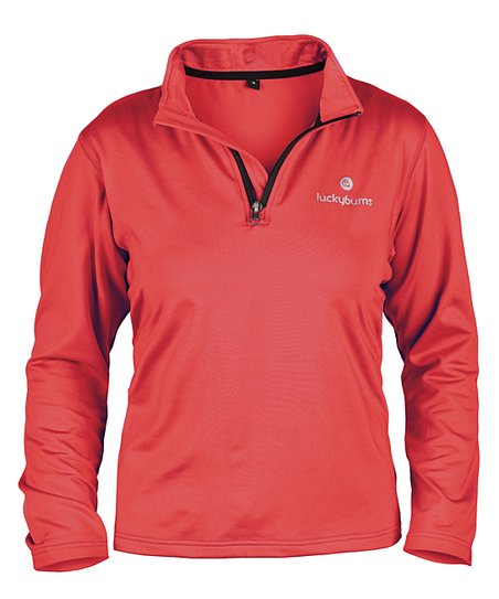Red Performance Pullover