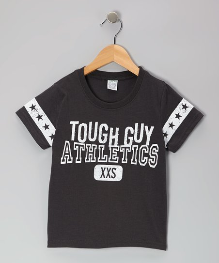 Gray 'Tough Guy Athletics' Tee - Toddler & Boys
