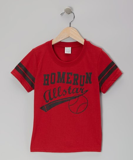 Red 'Homerun Allstar' Tee - Toddler & Boys