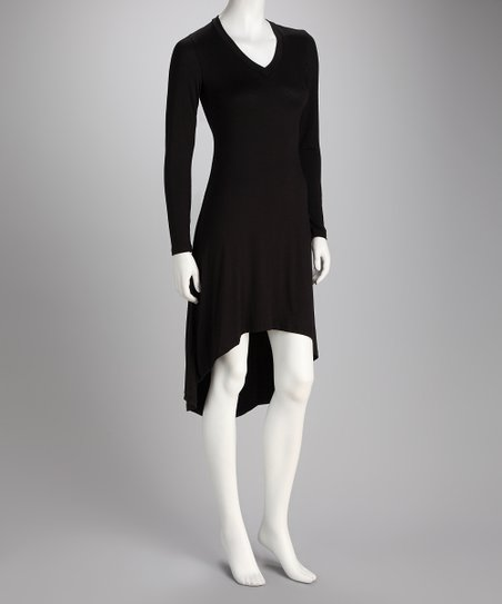 Black Hi-Low Dress - Women &amp; Plus