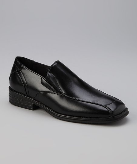 Black Carter Dress Shoe - Boys