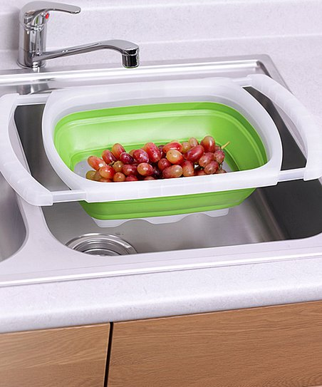 6-Qt. Over-the-Sink Colander