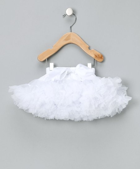 White Bow Pettiskirt