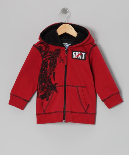 Rio Red Scrambler Zip-Up Hoodie - Infant, Toddler & Boys