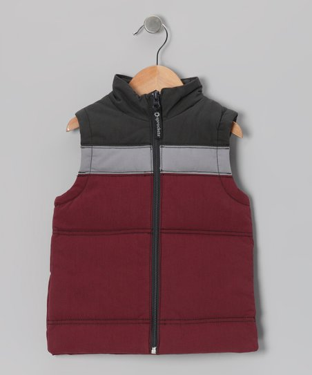 Zinfandel Sledding Vest - Infant, Toddler & Boys