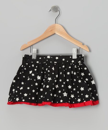 Anthracite Starlight & Ski Patrol Dance Skirt - Toddler & Girls