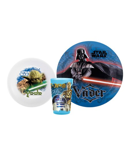 Star Wars Three-Piece Mealtime Set