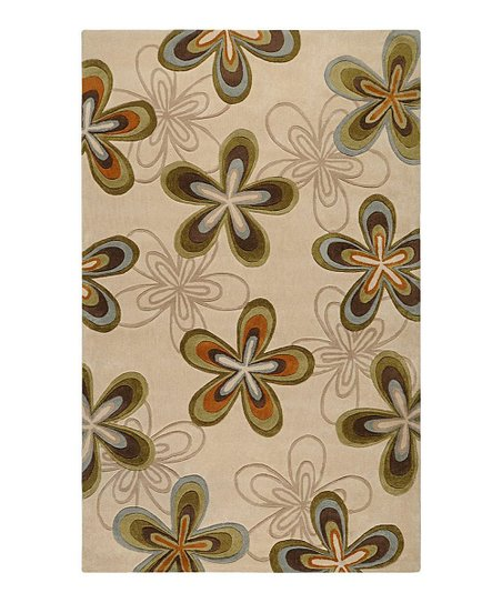 Golden Brown & Olive Cosmopolitan Rug