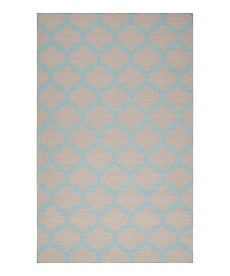 Blue Haze &amp; Oatmeal Frontier Rug