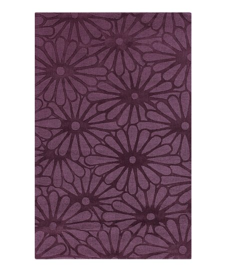 Grape Floral Mystique Rug