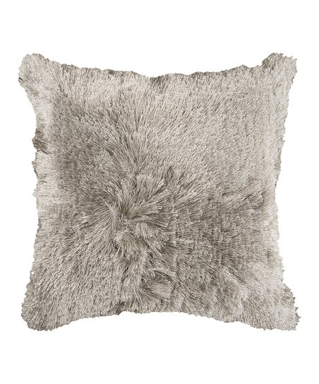 Feather Gray Pillow