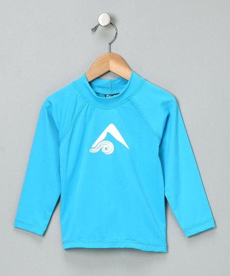 Aqua Platinum Rashguard - Toddler & Boys