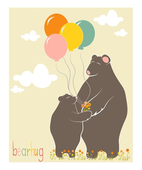Bear Hug Gicle Print