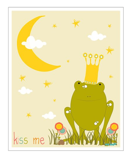 Frog Prince Gicle Print