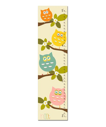 Pink 'Hoot' Growth Chart