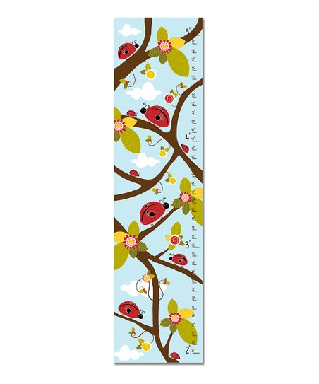 Blue Ladybug Growth Chart