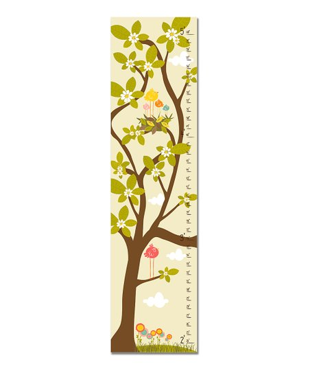 Cream Nest in Tree Growth Chart