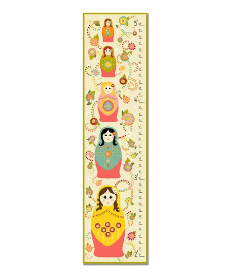 Pink Nesting Dolls Growth Chart