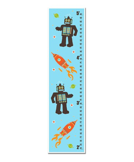 Aqua Robots &amp; Rockets Growth Chart