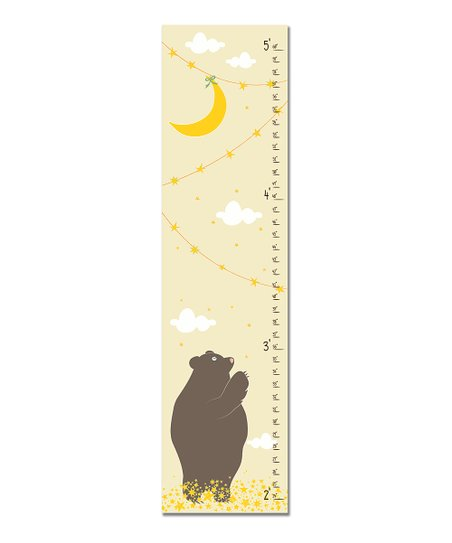 Cream Reach for the Stars Growth Chart