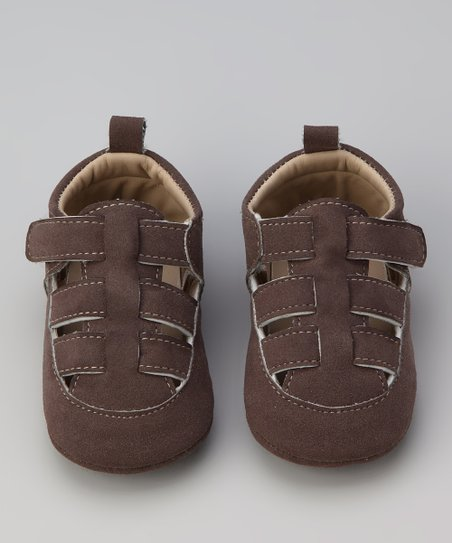 Brown T-Strap Sandal