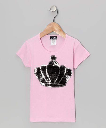 Pink Crown Tee – Toddler & Girls