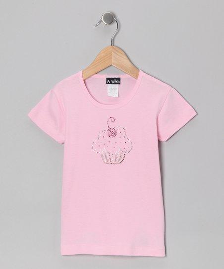 Pink Cherry on Top Cupcake Tee – Toddler & Girls