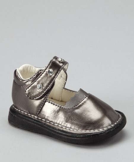 Taupe Patent Mary Jane