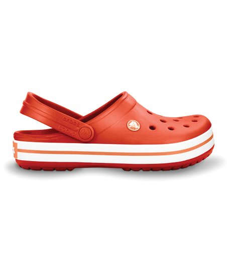 Tomato & Grapefruit Crocband Clog - Men & Women