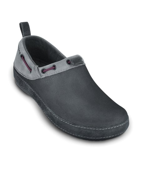 Graphite &amp; Light Gray Surrey Shoe - Women